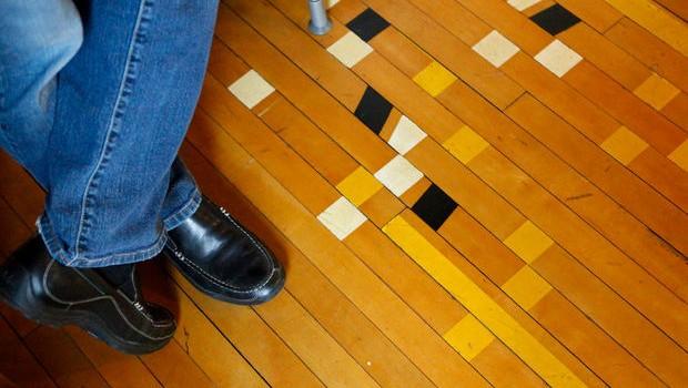 M retail solutions basketball floor